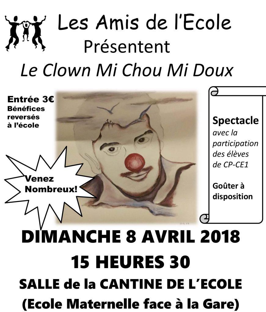 Spectacle de clown à Marssac