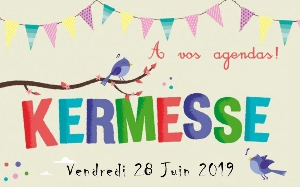 Invitation Kermesse de l'Ecole de Marssac