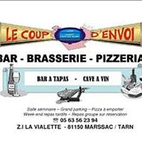 Restaurant Le Coup d'Envoie est partenaire du loto de l'école de Marssac