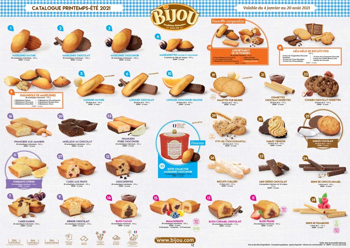 Catalogue Biscuiterie Bijou